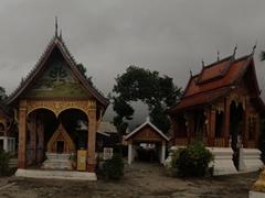 Panorama of Wat Sensoukharam; Luang Prabang
