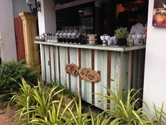 Coffee shack in Luang Prabang