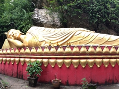 Reclining Buddha on Mount Phousi
