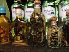 Fancy a bottle of snake or scorpion infused Lao Whisky?
