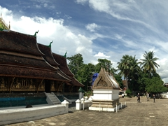 Panorama of Wat Xieng Thong complex