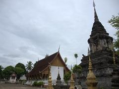 Wat Mahathat, one of 32 Wats of Luang Prabang