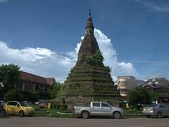 That Dam (Black Stupa); Vientiane