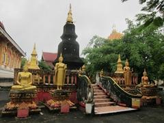 Stupa at Wat That; Vang Vieng