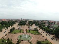 Panoramic view of Vientiane