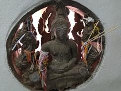 Buddha statue in Patuxai