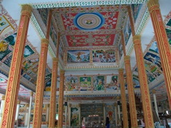 Interior of Wat That Luang Tai; Vientiane