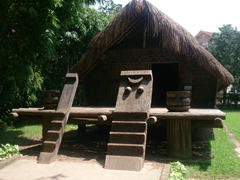 Ede House on display at the Museum of Ethnology
