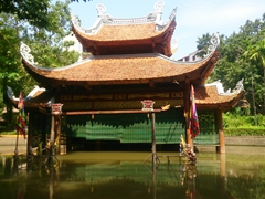Water puppet theater at the Ethnology Museum