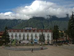 Sapa's main square