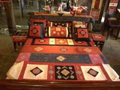 Beautiful tapestries for sale in Sapa