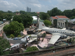 We enjoyed spending several hours at the excellent Hanoi Military Museum