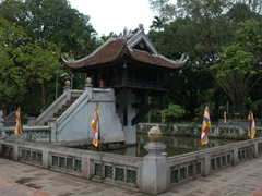 One Pillar Pagoda; Hanoi