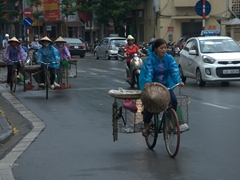 The basket on bike gang; Hanoi