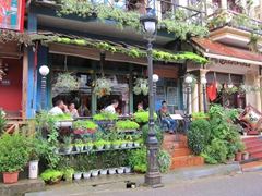 Quaint cafes and restaurants in Sapa