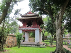 Temple of Literature garden; Hanoi