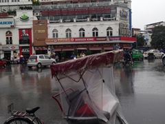 Hanoi during Typhoon Dianmu