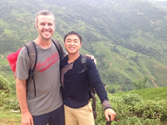 Robby and Su, our fantastic Sapa guide!