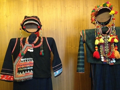 Applique textiles carry the mark of the nomadic culture of the Tibeto-Burmese. These vibrant motifs are on display at the Ethnology Museum