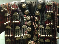 Ornate traditional jacket; Ethnology Museum