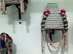 Young unmarried women's hat; Ethnology Museum