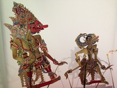 Shadow puppets; Ethnology Museum