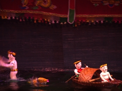 Dating back to the 11th century, water puppetry remains a popular form of entertainment in Vietnam