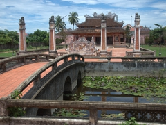 One of Hoi An's numerous temples