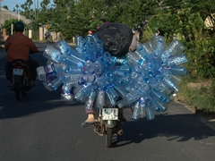 Water bottle recycler; Hoi An