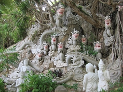 Dragon carving; Marble Mountain