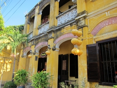 Hoi An, a delightful (and touristy) ancient town that is on every backpacker's Vietnam itinerary