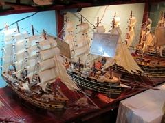 Miniature ships for sale; Hoi An