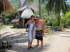 Its beach time at Jungle Beach, an oasis 45km away from busy Nha Trang