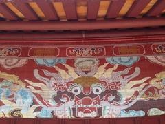 Dragon detail; Minh Mang Tomb