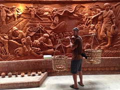 Robby at the Thanh Ha Terracotta Park