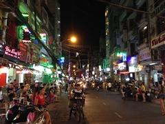 Saigon on a Sunday night