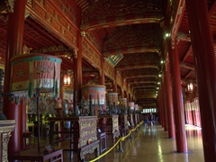 Palace interior; Imperial City of Hue