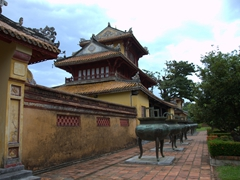 Another view of the Imperial City in Hue