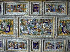 Tomb detail of Khai Dinh