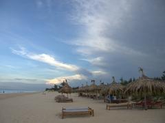 Enjoying the afternoon at Beach Bar Hue