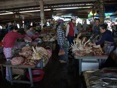Market scene in Hoi An