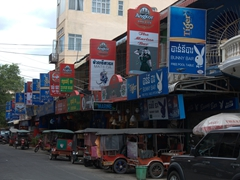 Street 104 has 15 hostess bars (Bunny Bar, The Marine Bar, Matilda Bar, Zanzi Bar, Top Ten Bar, Soft Spot, Cheers, etc); Phnom Penh