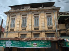 Colonial architecture in Battambang