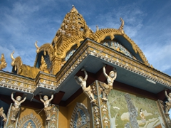 Detail of Phnom Sampeau Wat