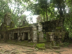 An abandoned temple at Ta Prohm