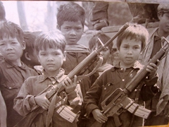 The Khmer Rouge recruited and trained rural children to join their sick and savage cadre