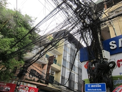 Imagine being a cable technician in Phnom Penh and trying to troubleshoot an issue here? No thanks!