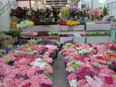 Flower market; Bangkok
