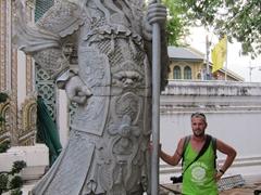 Robby at Wat Pho
