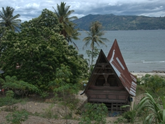 A peaceful Lake Toba scene
